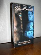 Gods and Monsters starring Ian McKellen, Brendan Fraser, Lynn Redgrave (Vhs,1999
