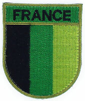 FRANCE CAMO INSIGNIA MILITARIA OPEX FLAG PATCHES PATCH  MILITARY ARMY