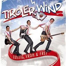 Tiroler Wind - Lustig, Froh & Frei - CD - Neuware