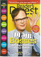 Reader's Digest March 2013 Dumb Bosses/Fact vs Film/12 Best Foods for Health