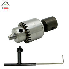 1pcs 0.3-4mm JT0 Drill Chuck w/1pcs 5mm Motor Shaft for Rotary Grinder Tool
