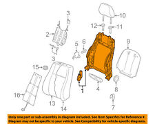 AUDI OEM 15-16 A3 Front Seat-Seat Back Frame Right 5Q4881046B