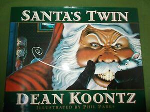 DEAN KOONTZ SANTA'S TWIN FIRST UK HARDBACK EDITION 1996