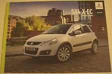 Suzuki . SX4 . Suzuki SX4 X-EC Limited Edition . 2011 Sales Brochure