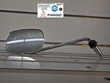 Specchio retrovisore sinistro cromato piaggio beverly originale piaggio CM071904
