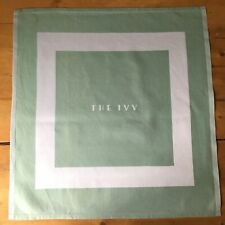 Ivy Napkins x 2 Cloth Green from The Iconic Restaurant