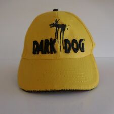 Casquette DARK DOG 100 % coton motifs graphiques brodés made in China