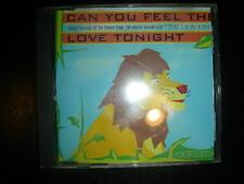 Dance CD HARAJUKU  Can You Feel The Love Tonight ( 4 Tracks) cds  Dance Street