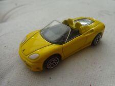 1/63 MATCHBOX - CLASSIC FERRARI 360 SPIDER YELLOW DIECAST CAR VINTAGE 2001