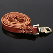 1pcs Soft Leather Dog Collar & Leash In Pet Dogs Puppy Chain 2.5 X 120cm