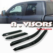 03-14 Dodge Ram 1500 Quad Cab Window Visors Rain/Sun Guard Vent Shade Deflector