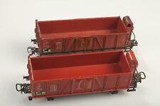 Märklin H0 4601 2 voiture à bord haut avec guérite de frein 816701 boue / défaut