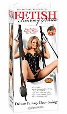 Deluxe Entry Door Hanging Love Sex Sling Swing with Seat