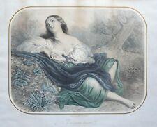 Lithographie XIXème - Il m'aimera toujours ! - Régnier et Bettanier - Vereyden