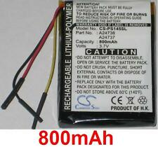 Batterie 800mAh type 978733201021 A24737 A24738 Pour Philips GoGear SA6145