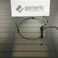 "Headset Dual Ear - for AudioTechnica Black Omni 3/16"" US Seller G201B-AT"