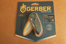 Gerber Mini Fast Draw Assisted Opening Folding Knife Blade S/E