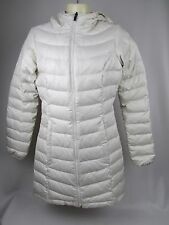 The North Face Transit Down Jacket Women's White Beige XS Extra Small Coat