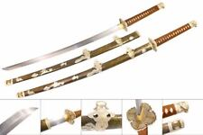 Ryujin 1060 High Carbon Steel Handmade Japanese Katana Sword Real Clay Tempered