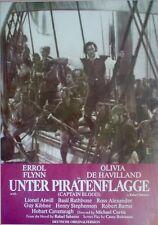 Original KINOPLAKAT des KINO FILMS: Unter Piratenflagge von 1935 - E. Flynn (03