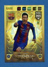 FIFA 365 2017-18 -Adrenalyn Panini- Card TOP MASTER n. 6 - MESSI - BARCELONA
