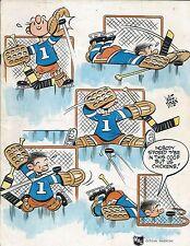 1970-71 Denver Spurs vs. Phoenix Roadrunners WHL Hockey Program - WHA #FWIL