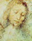 Head Of Christ Leonardo Da Vinci Fine Art Print on Canvas Repro Home Decor Small