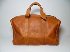 Vtg Tejada Leather Full Grain Travel Duffle Weekender Luggage Gym Carry On Bag