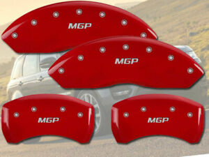 2013-2017 Land Range Rover Sport 5.0L Front + Rear Red MGP Brake Caliper Covers