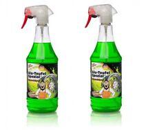 2x Alu Teufel Spezial Felgenreiniger Spezialreiniger grün Alu Felgen je 1 Liter