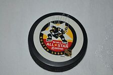 1996 Paul Coffey Autographed Boston NHL All Star Game Puck