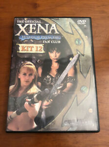Xena Warrior Princess Official Fan Club Kit 12 DVD Lucy Lawless