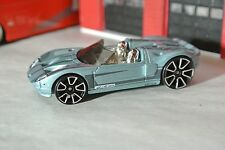Hot Wheels Ford GTX 1 - Gray - Loose - 1:64 - Exclusive Rare