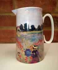 POPPY FIELD pichet en céramique de jus Cuisine Eau Jus vase 14.5 cm souvenirs NEUF
