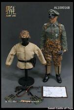 Línea de alerta escala 1/6 la segunda guerra mundial oficial alemán con MP40 AL100016B (no figura)