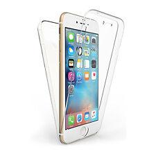 Funda Carcasa 360 Doble Cara Goma Para Iphone 7 Plus Transparente Silicona