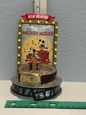 "DISNEY MICKEY & MINNIE MOUSE ""THE WHOOPEE PARTY"" WATCH &  DISPLAY LE 454/2000"