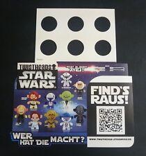 """Original Palettenanhänger """"Twistheads Star Wars"""" Deutschland 2012 Serien"""
