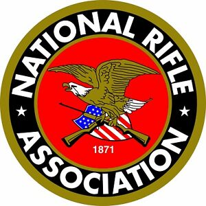 NRA Logo 2nd Amendment Gun Rights Aluminum Sign 3 Sizes To Choose From