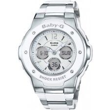 Casio Msg300c-7b3er Ladies Baby-g Alarm Chronograph Watch