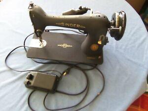 SINGER 66 godzilla finish SEWING MACHINE