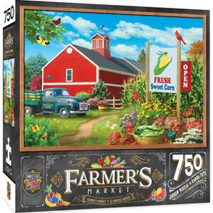 Masterpieces Farmer's Market COUNTRY HEAVEN 750 piece jigsaw puzzle NEW