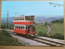 POSTCARD TRAMCAR NO. 60 BUILT IN 1905 NATIONAL TRAMWAY MUSEUM - CRICH -