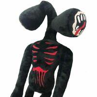 """16"""" Siren Head Horror Plush Toy Black Stuffed Plush Doll for Kids Christmas Gift"""