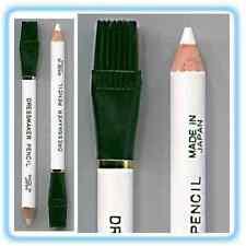 Tiza De Sastre Lápices Con Cepillo Goma borrar x2 Blanco Confección,Manualidades