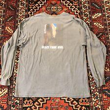 """Vintage Timberland """"Blaze Your Own� Mens Shirt sz Large Rare Mountain Climbing"""
