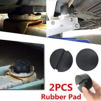 Universal Frame Rail Floor Jack Pad Protector Guard Rubber Polyurethane Adapter