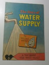 The Story Of Water Supply Promotional Comic Book 1960 Vital Publications