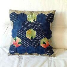 Patchwork copri cuscino fatto a mano, tessuto americano,handmade