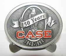 Case Corporation 150 Years 1842-1992 Eagle Logo Pewter Belt Buckle Ltd Ed #429